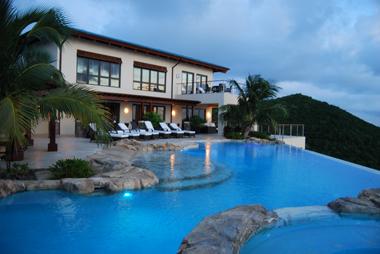 Peter Island's Falcon's Nest Villa