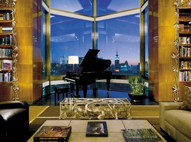 $35,000 a Night Ty Warner Penthouse Suite!