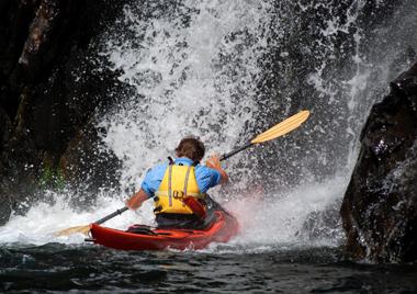 Kayaking in Newfoundland