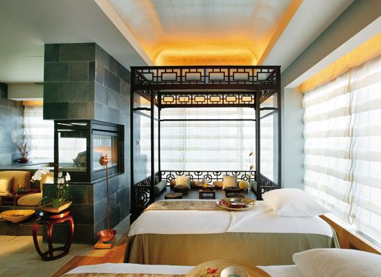 Mandarin Oriental Top Travel Therapy Spa!